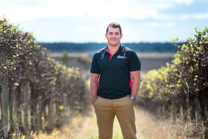 Zac Caudo - Grape grower with out-of-the-bottle thinking