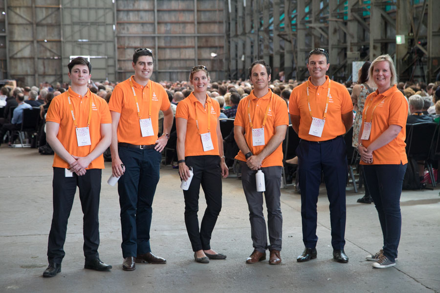 Rabobank volunteers